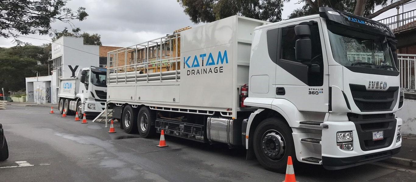 katamdrainage truck